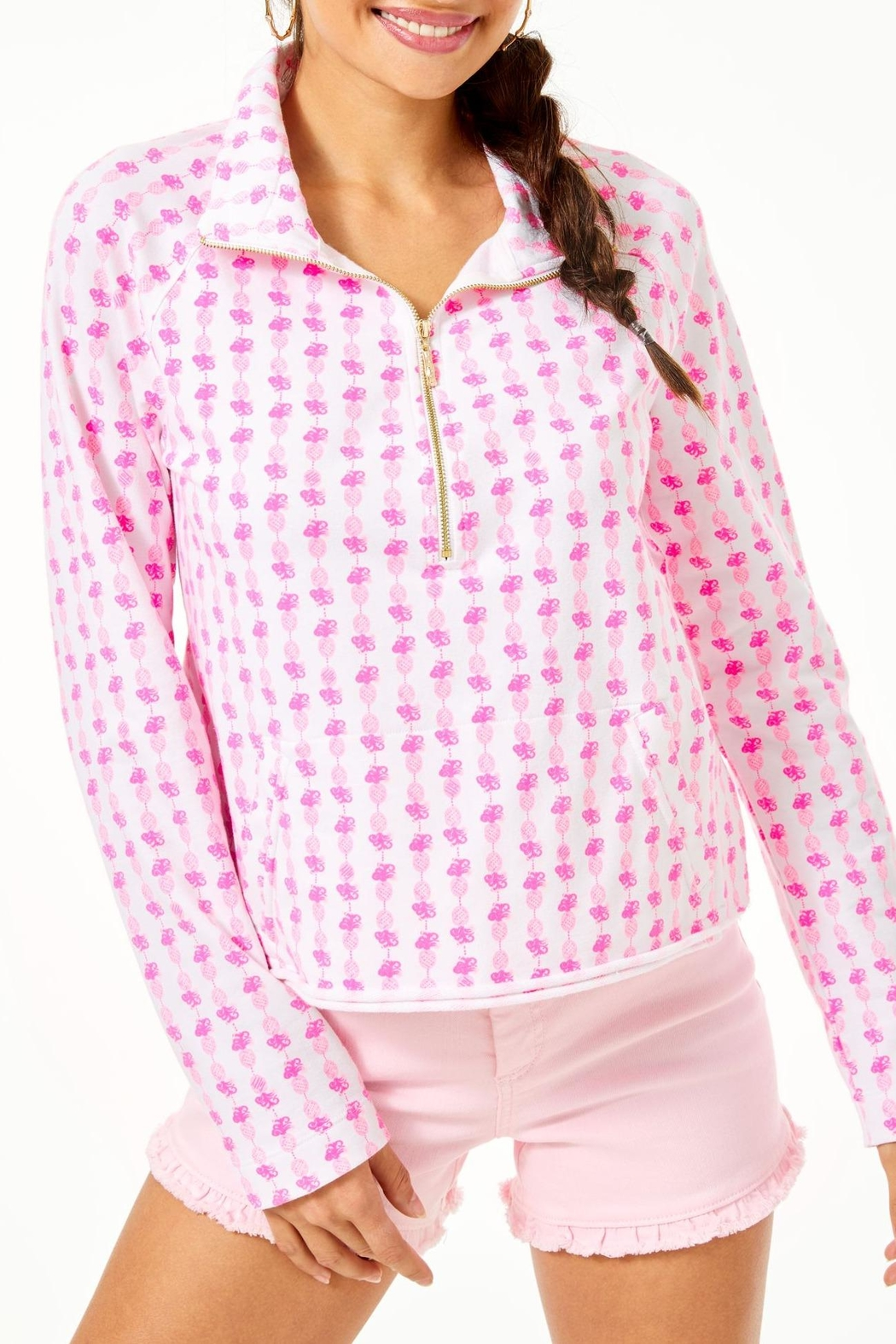 Lilly Pulitzer Ronan Cropped Popover - Main Image