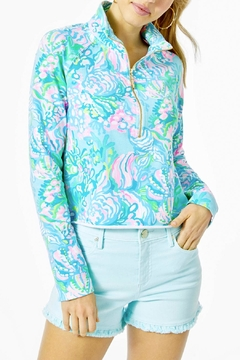 Lilly Pulitzer Ronan Cropped Popover Upf 50+ - Product List Image