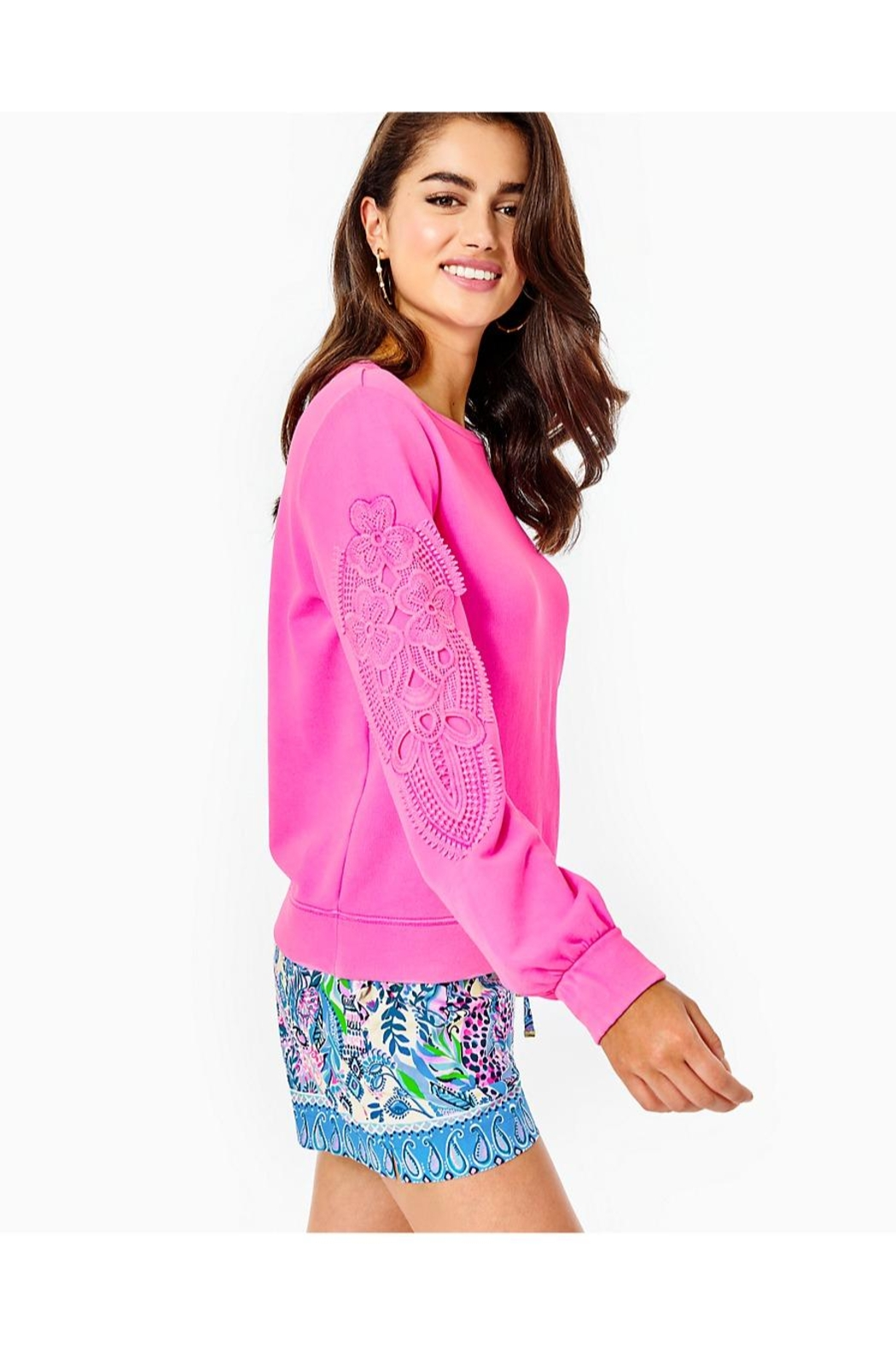 Lilly Pulitzer Rooney Sweatshirt - Side Cropped Image