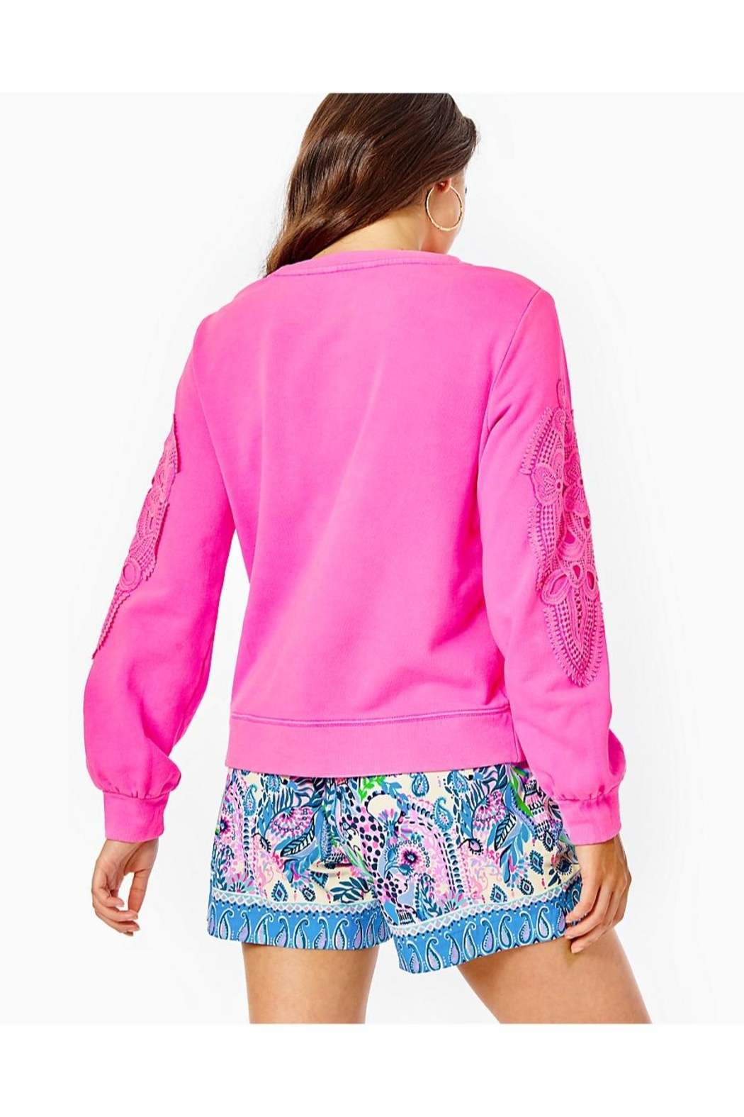 Lilly Pulitzer Rooney Sweatshirt - Front Full Image