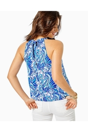 Lilly Pulitzer Rori Halter Top - Front full body