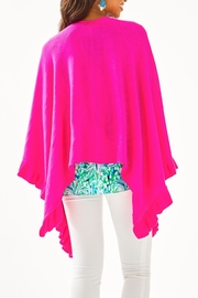 Lilly Pulitzer Rosaria Ruffle-Sweater Wrap - Front full body