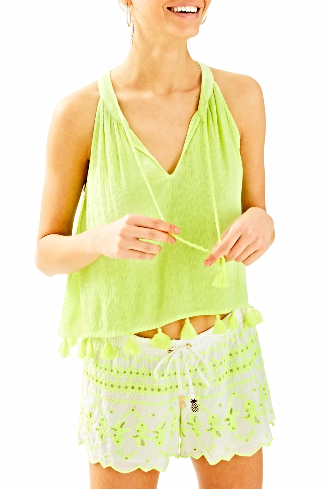 Lilly Pulitzer Roxi Top from Sandestin Golf and Beach Resort by ...