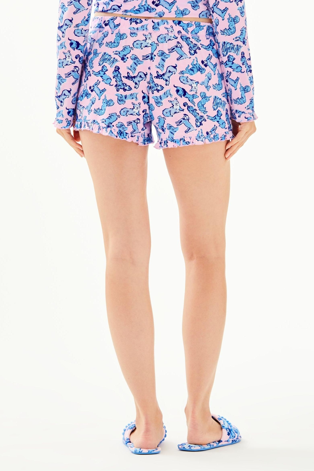 Lilly Pulitzer Ruffle Pj Short - Front Full Image
