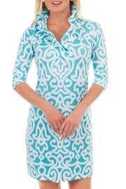 Lilly Pulitzer Ruffneck Jersey Dress - Product Mini Image