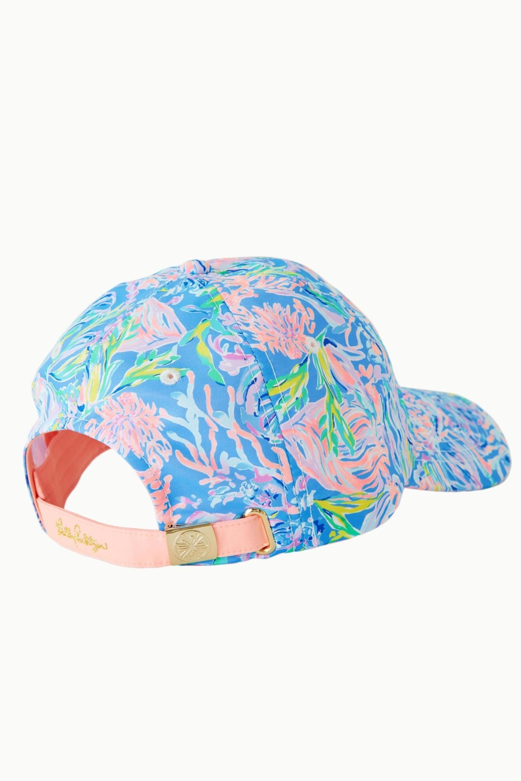 Lilly Pulitzer Run Around Hat - Front Full Image