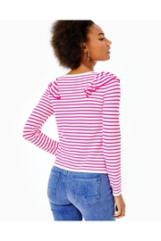 Lilly Pulitzer Ruth Striped Sweater - Front full body