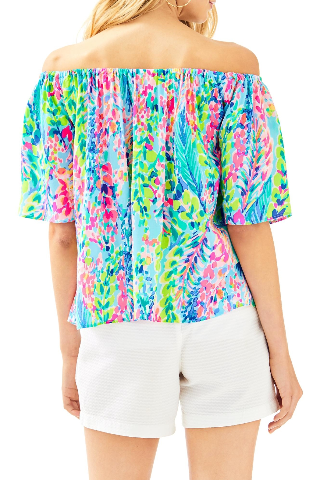 Lilly Pulitzer Sain Top - Front Full Image