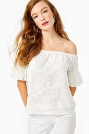 Lilly Pulitzer Samia Off-The-Shoulder Top - Product Mini Image