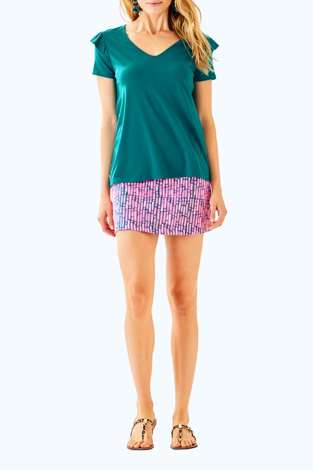 Lilly Pulitzer Samira Top - Side Cropped Image