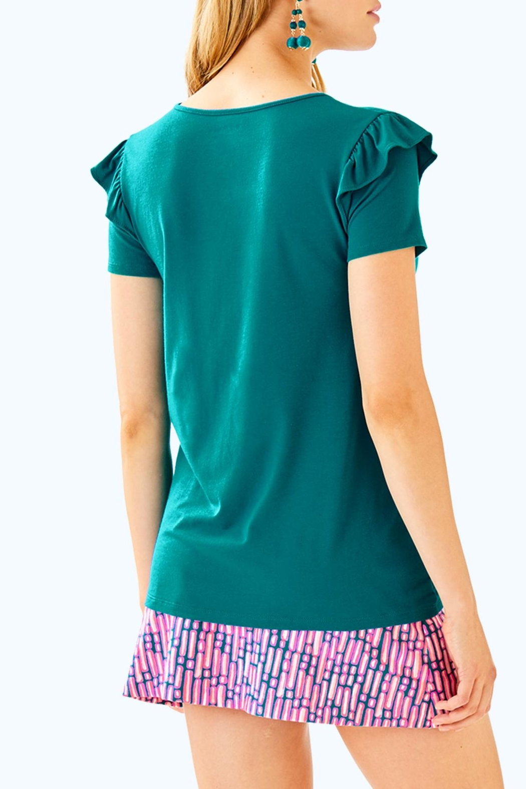 Lilly Pulitzer Samira Top - Front Full Image
