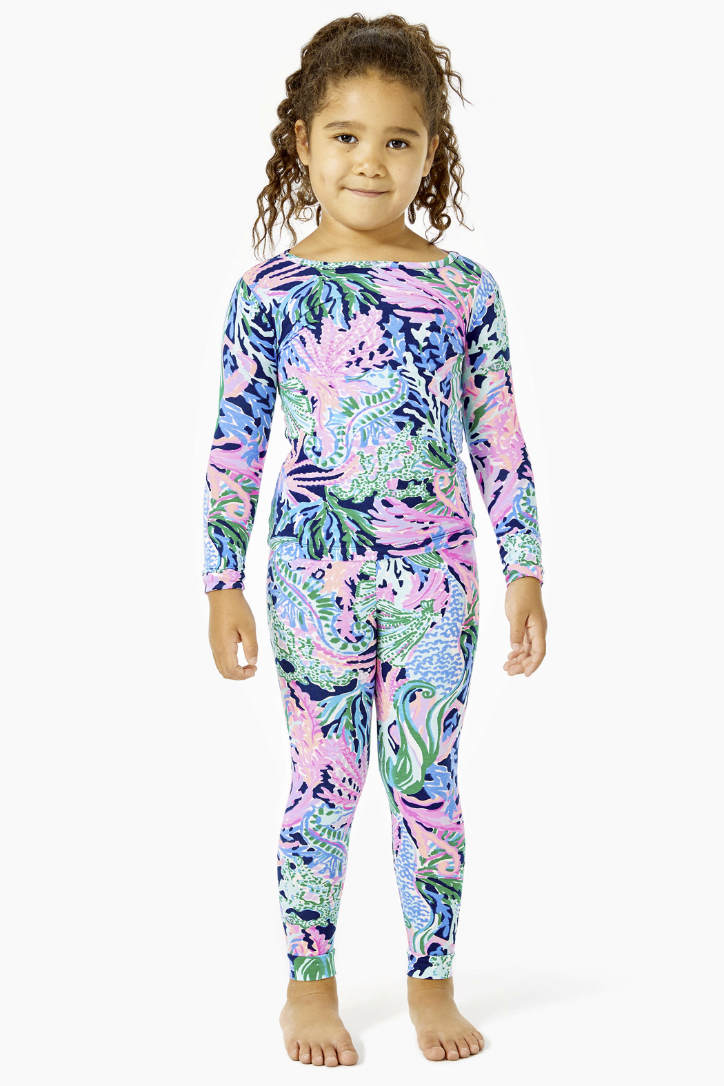 Lilly Pulitzer Sammy Pajamas Snug-Fit - Front Cropped Image