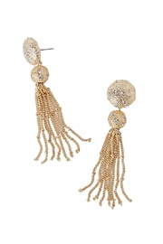 Lilly Pulitzer Sanddune Tassel Earrings - Front cropped