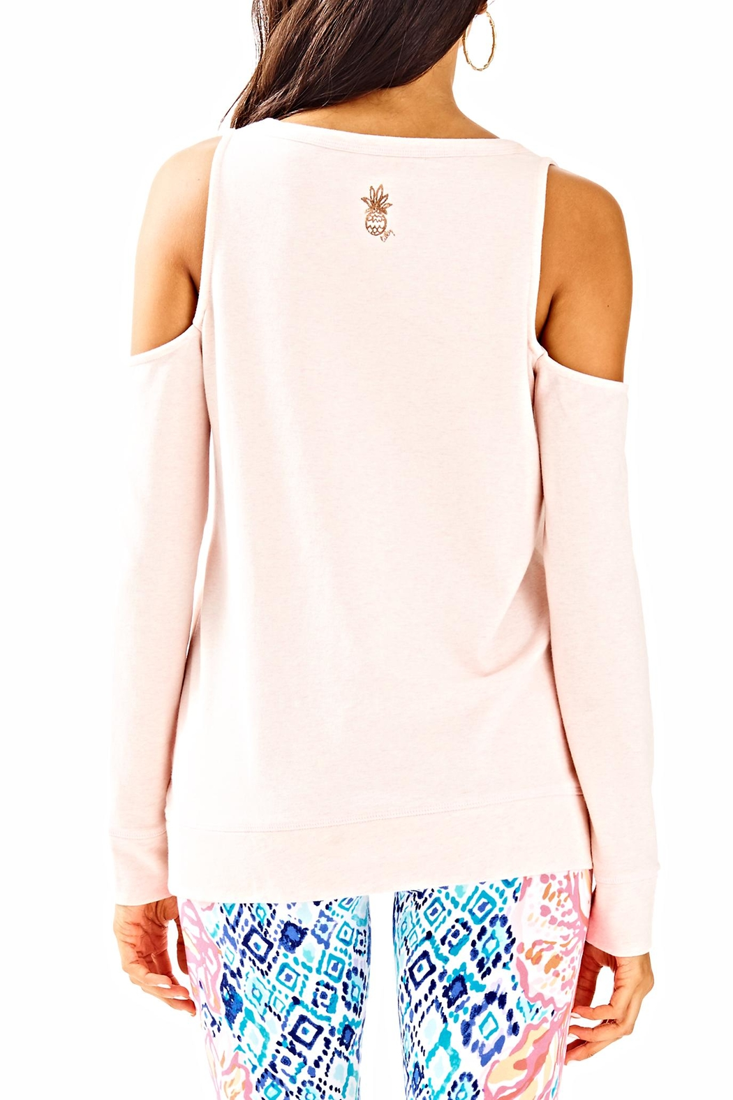 Lilly Pulitzer Sandy Pullover Top - Front Full Image