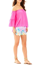 Lilly Pulitzer Sanilla Silk Top - Product Mini Image