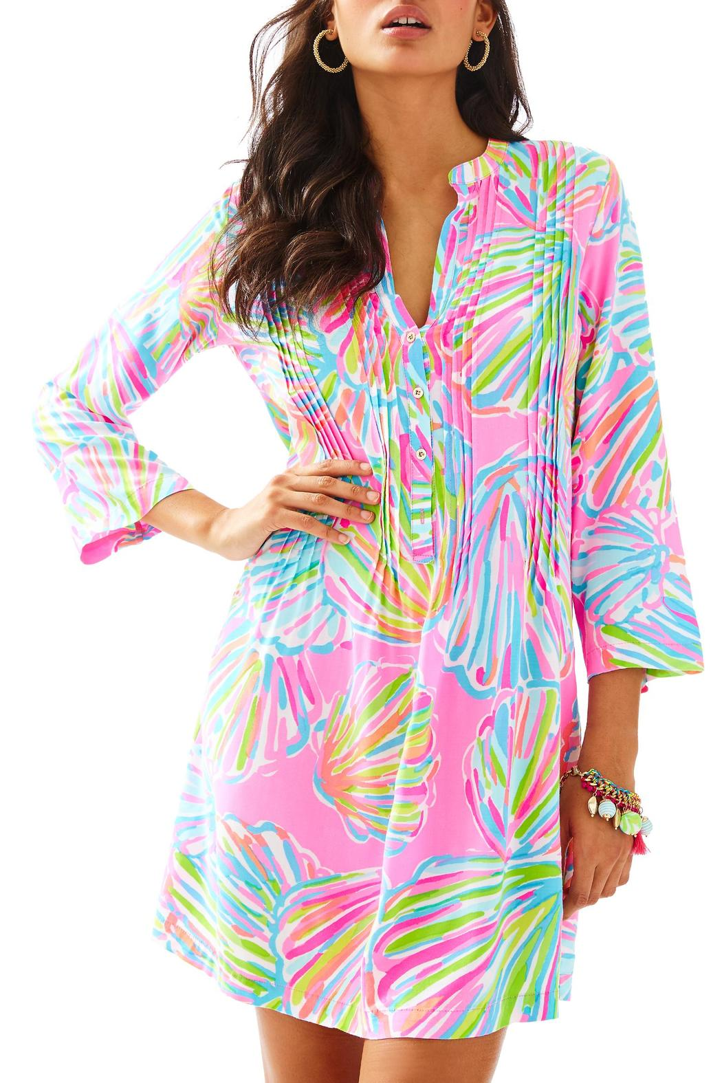 a08f155086a7d8 Lilly Pulitzer Sarasota Pintuck-Tunic Dress from Sandestin Golf and ...