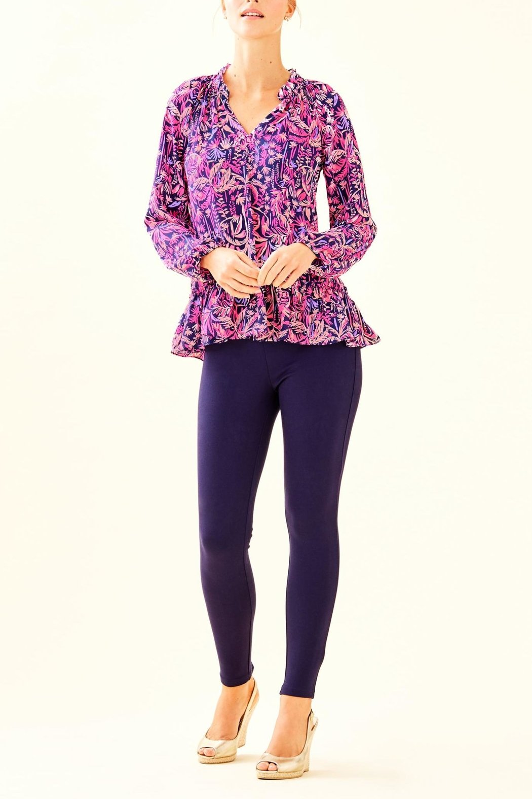Lilly Pulitzer Savanna Top - Side Cropped Image