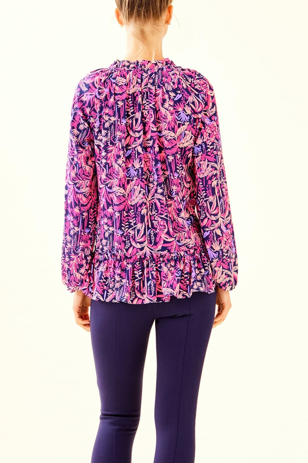 Lilly Pulitzer Savanna Top - Front Full Image