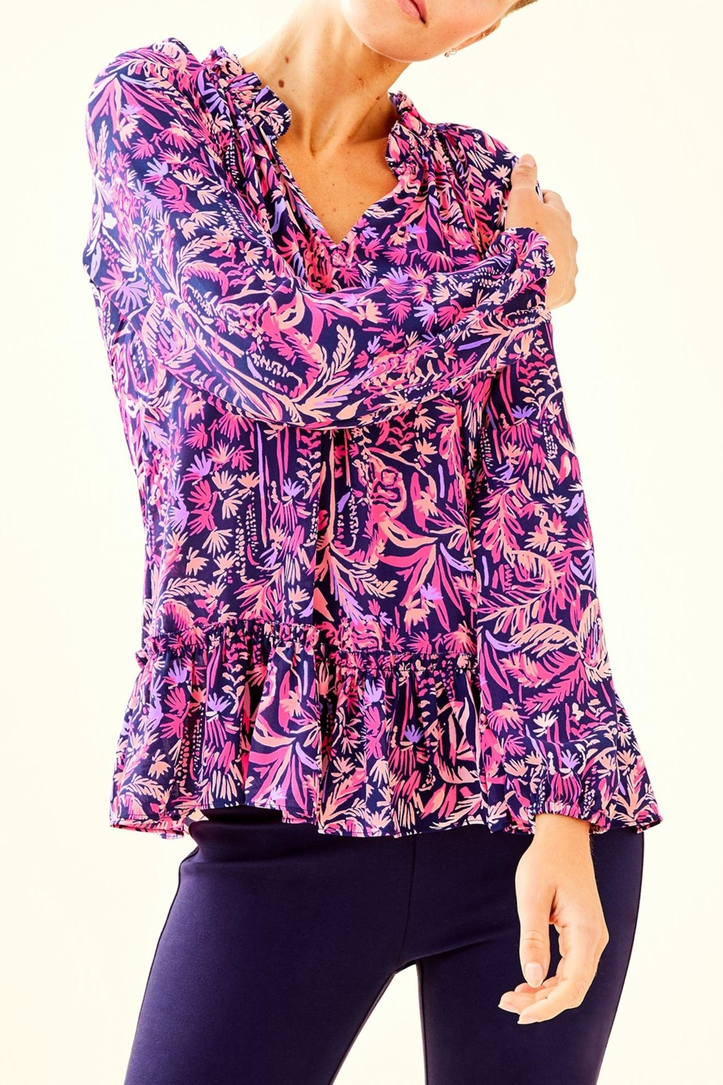 Lilly Pulitzer Savanna Top - Main Image
