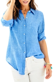 Lilly Pulitzer Sea View Top - Front cropped