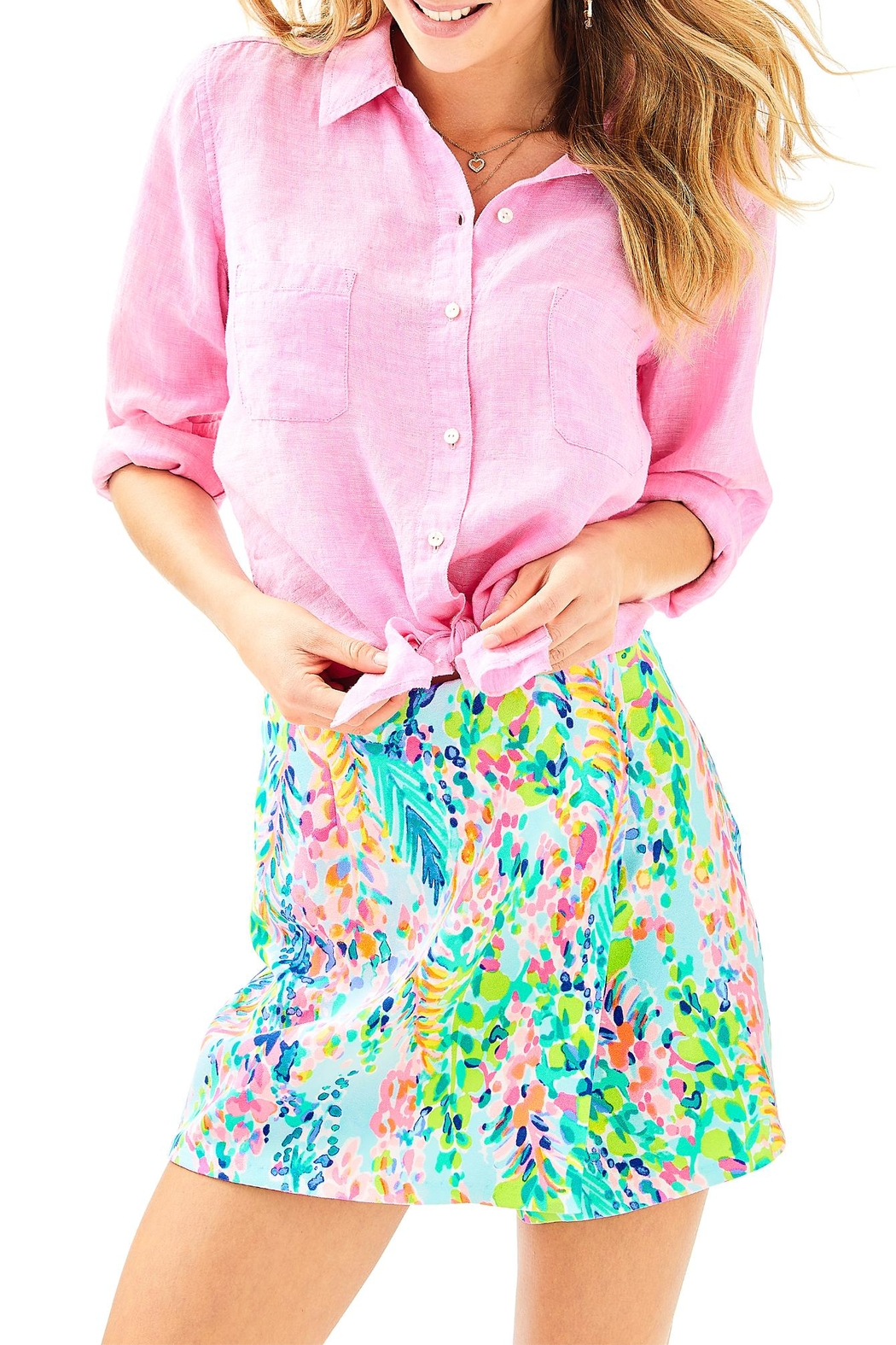 Lilly Pulitzer Sea View Top - Main Image