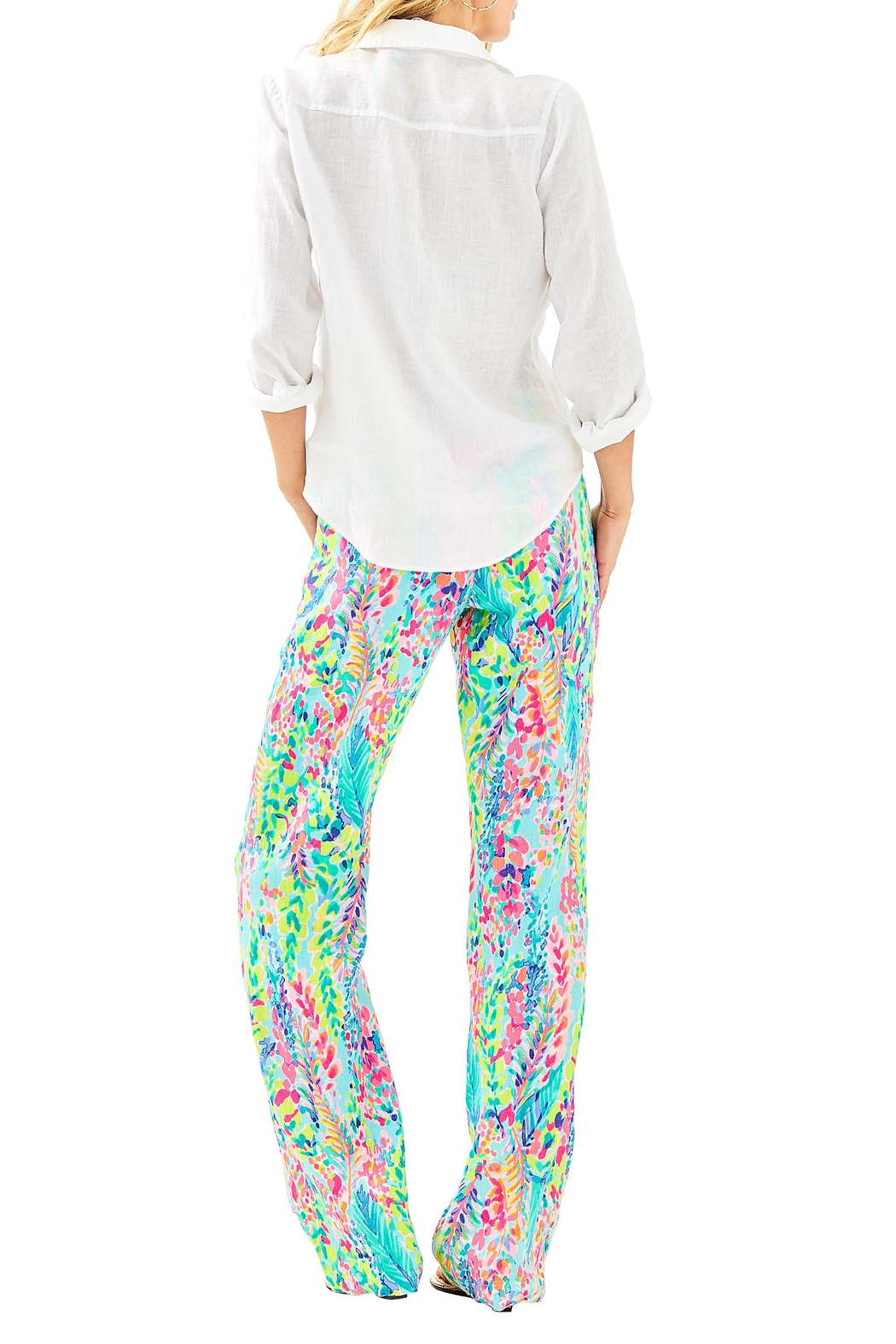 Lilly Pulitzer Sea View Top - Front Full Image