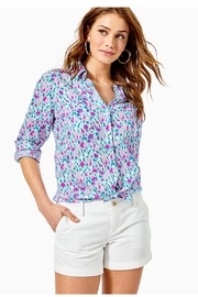 Lilly Pulitzer Sea View Top - Product Mini Image