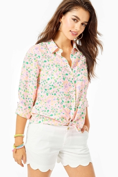 Lilly Pulitzer Sea View Top - Product List Image