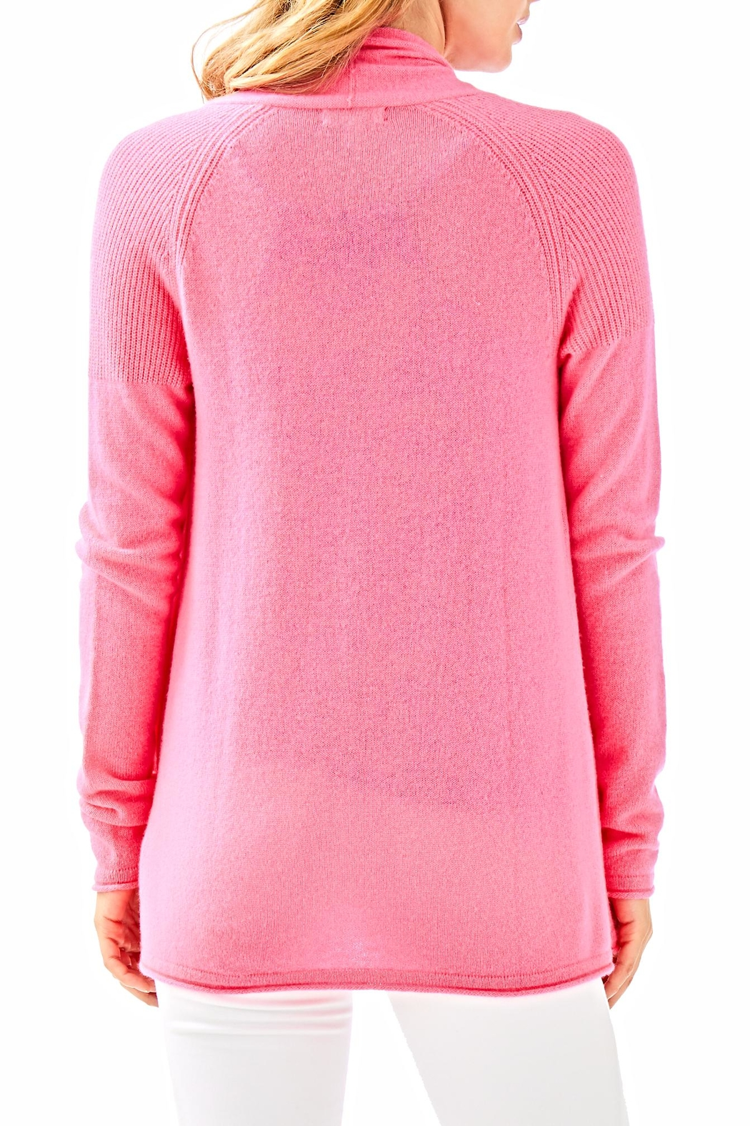 Lilly Pulitzer Seabrook Cashmere Cardigan - Front Full Image