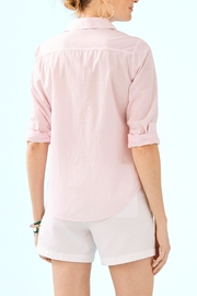 Lilly Pulitzer Seaview Button-Down Top - Front full body