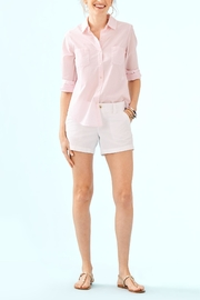 Lilly Pulitzer Seaview Button-Down Top - Side cropped