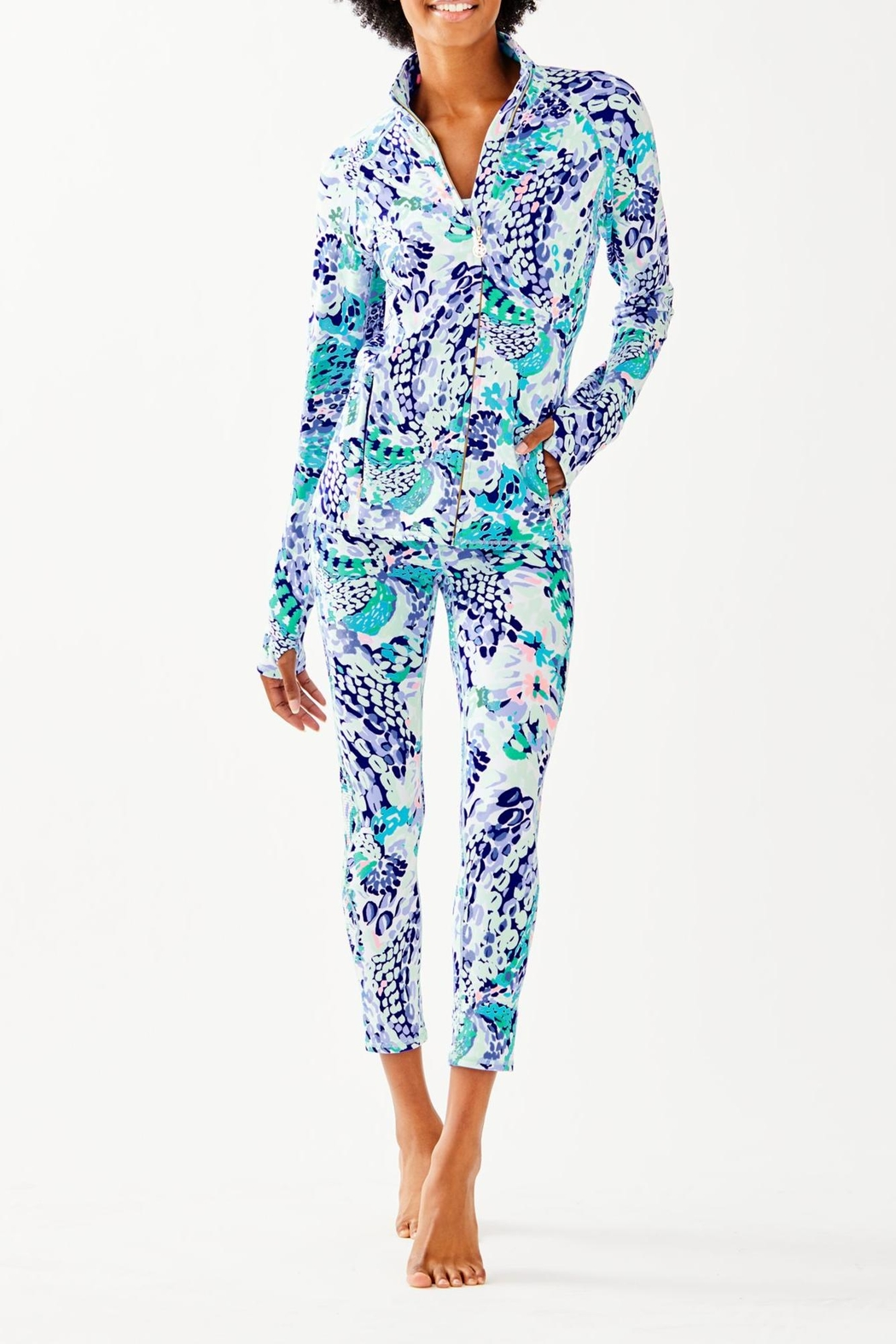Lilly Pulitzer Serena Jacket - Side Cropped Image