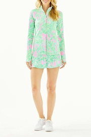 Lilly Pulitzer Serena Luxletic Zip-Up Upf 50+ - Product Mini Image