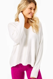Lilly Pulitzer Sevie Dolman Sweater - Front cropped