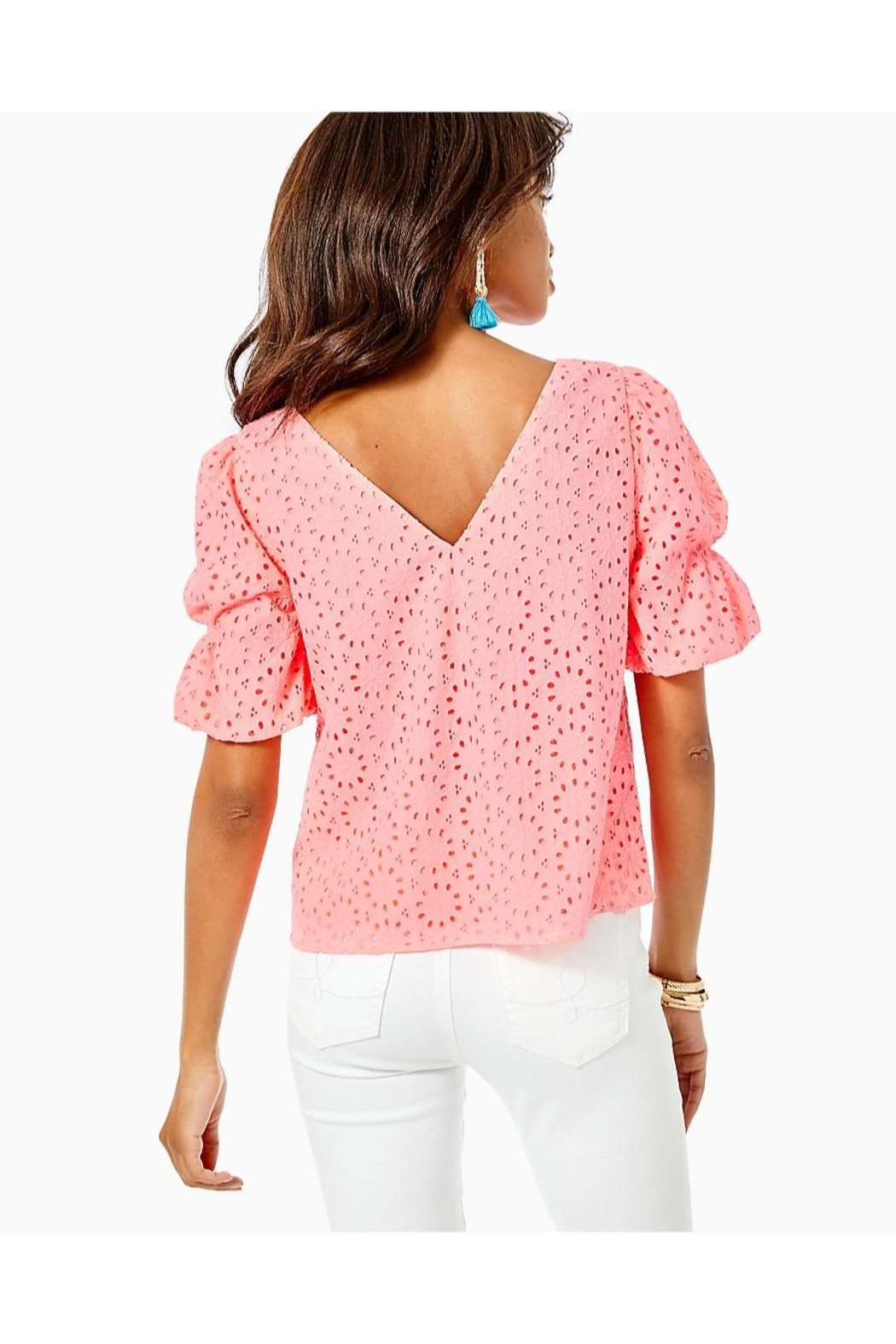 Lilly Pulitzer Shaila Top - Front Full Image