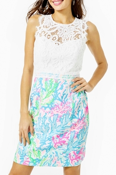 Lilly Pulitzer Sharice Stretch Shift Dress - Product List Image