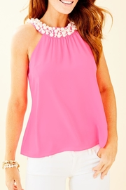 Lilly Pulitzer Shawn Beaded Top - Product Mini Image