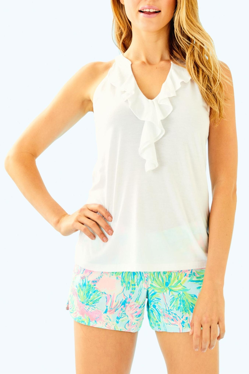 Lilly Pulitzer Shay Top - Front Cropped Image