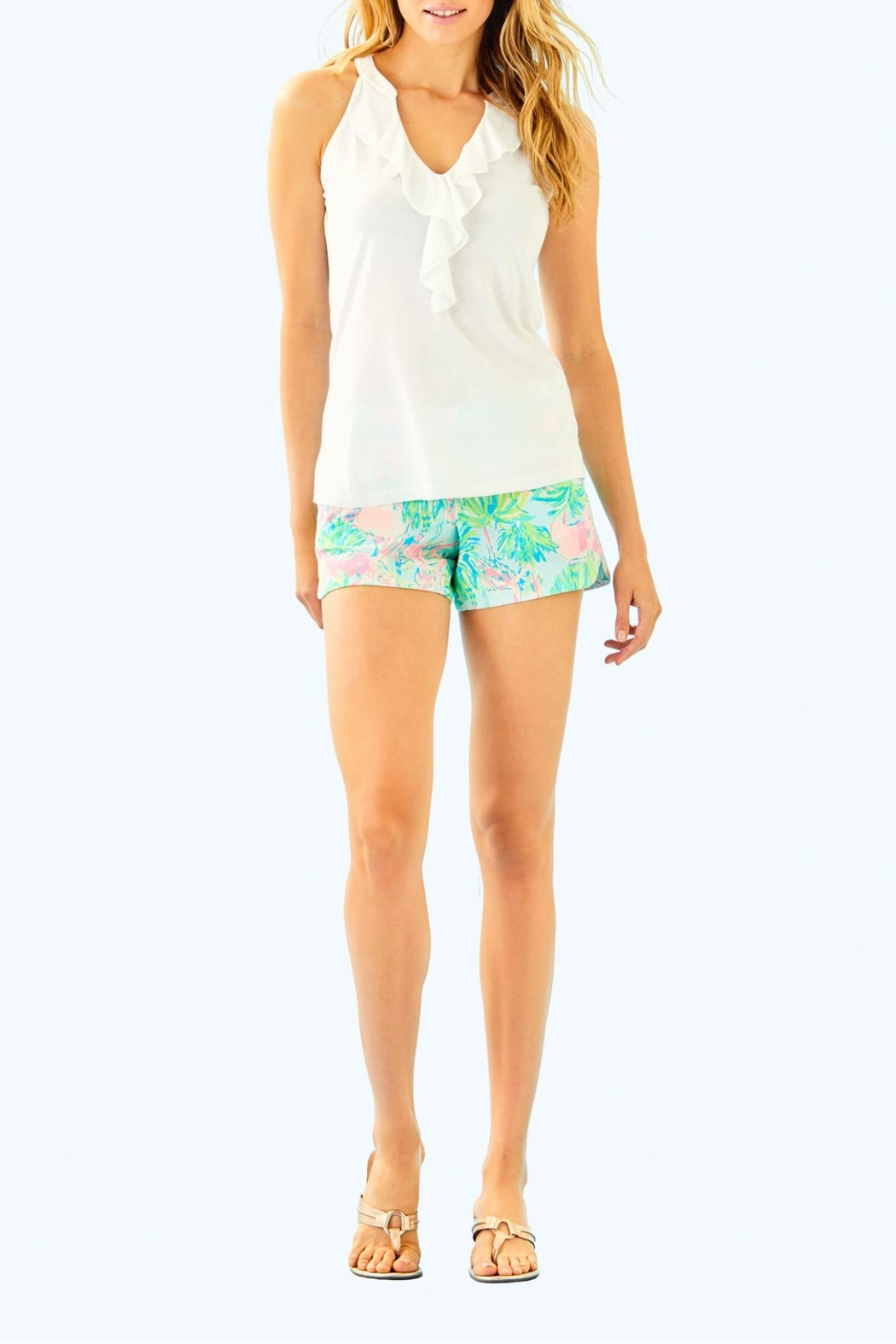 Lilly Pulitzer Shay Top - Side Cropped Image