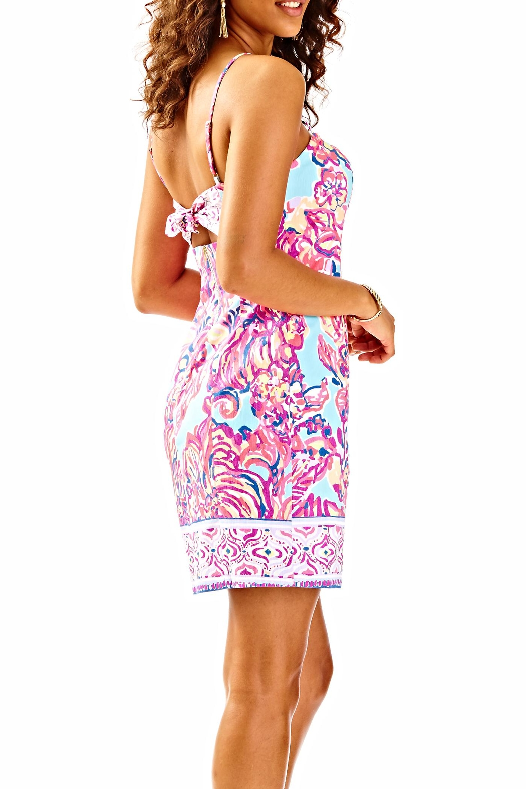 Lilly Pulitzer Shelli Dress - Side Cropped Image