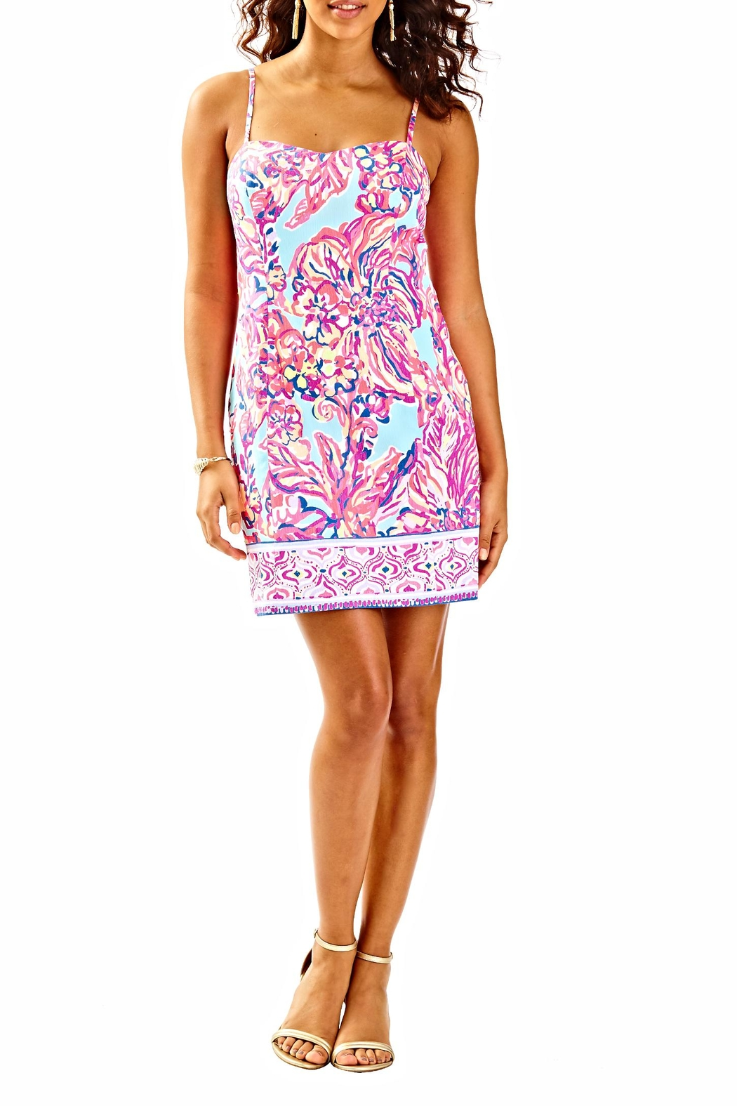 Lilly Pulitzer Shelli Dress - Back Cropped Image
