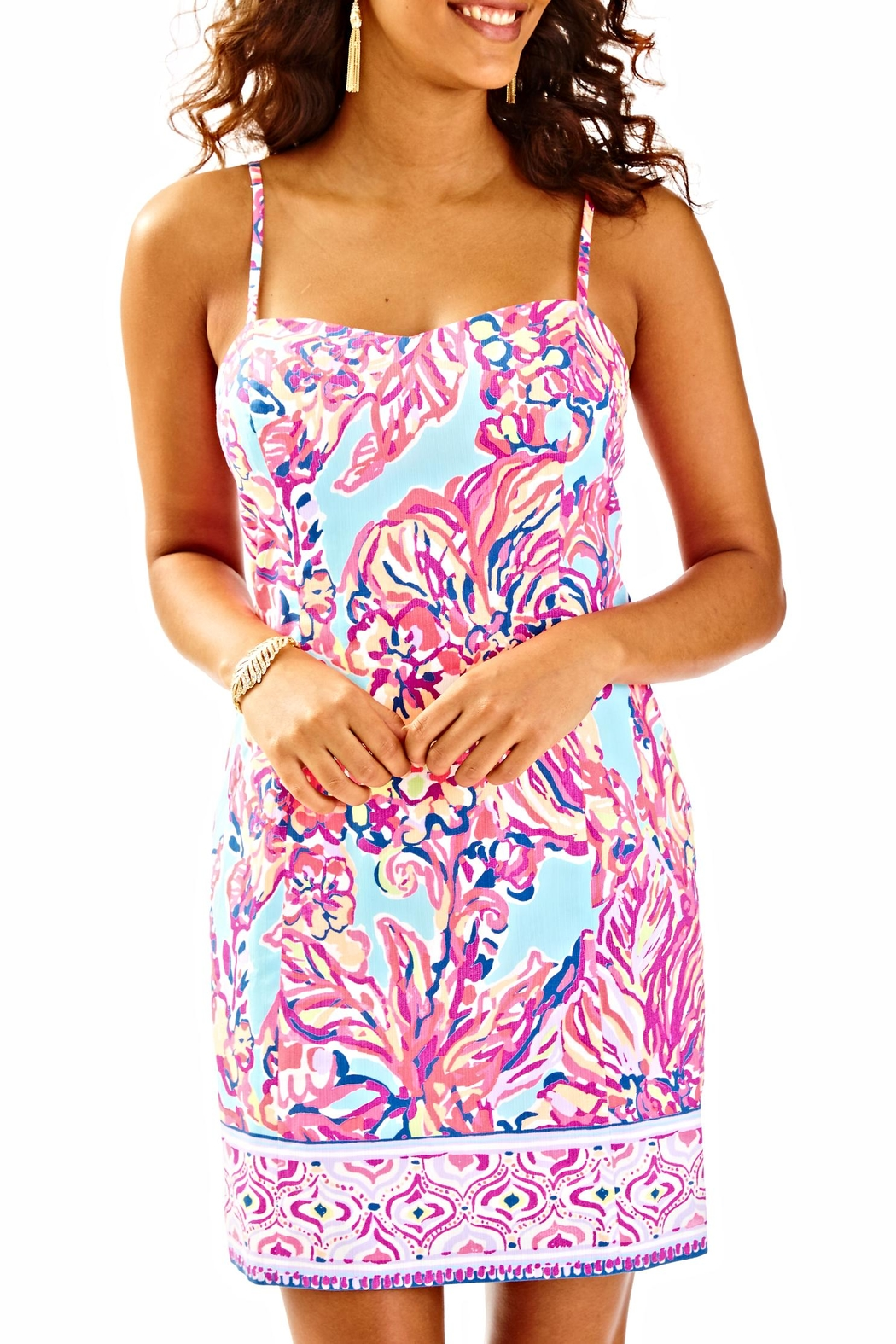 Lilly Pulitzer Shelli Dress - Front Cropped Image