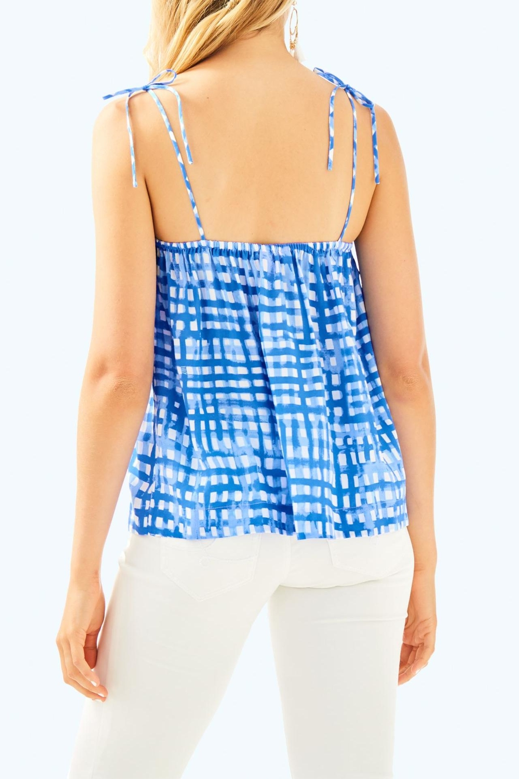 Lilly Pulitzer Silvana Top - Front Full Image