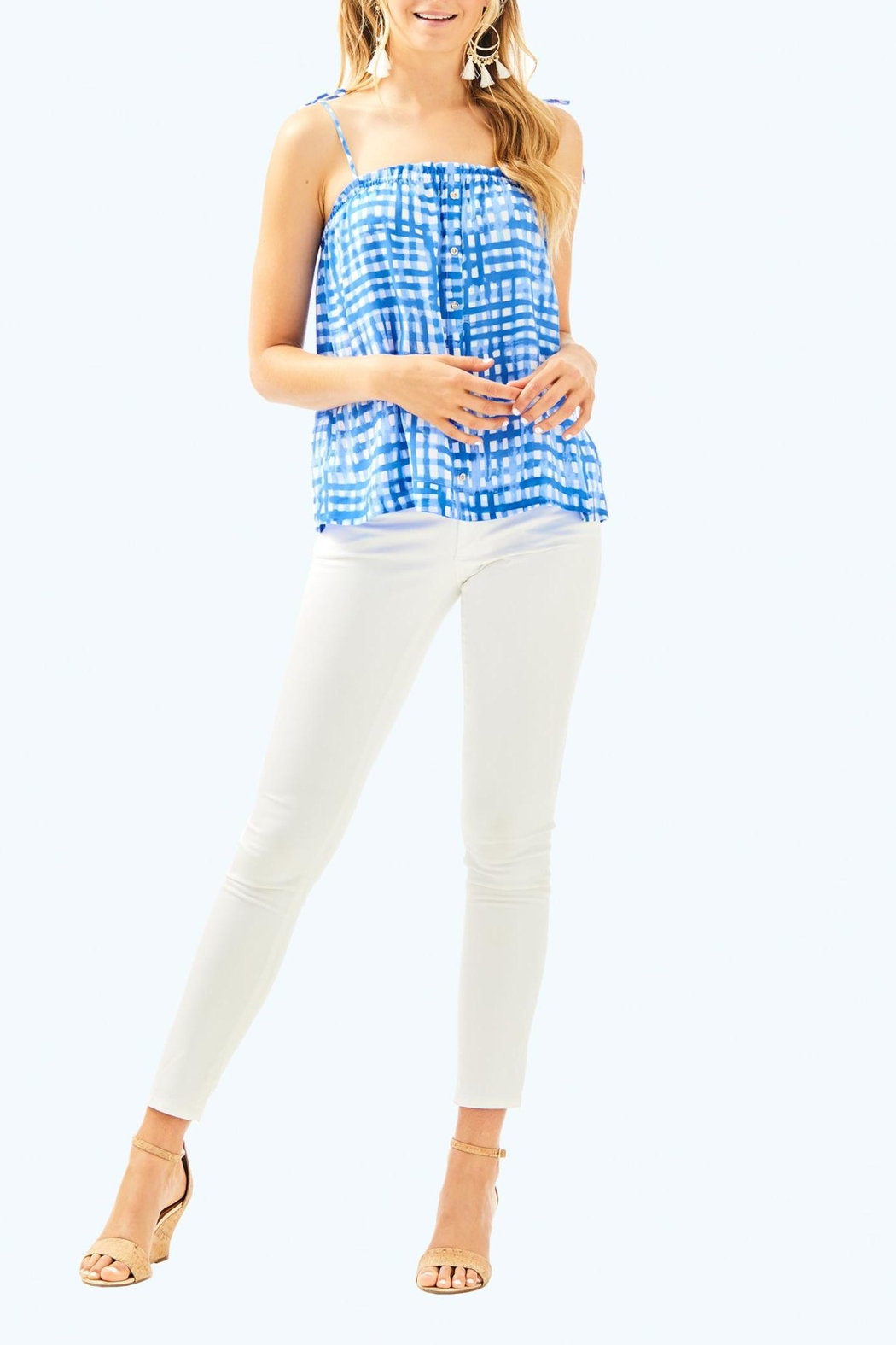 Lilly Pulitzer Silvana Top - Side Cropped Image