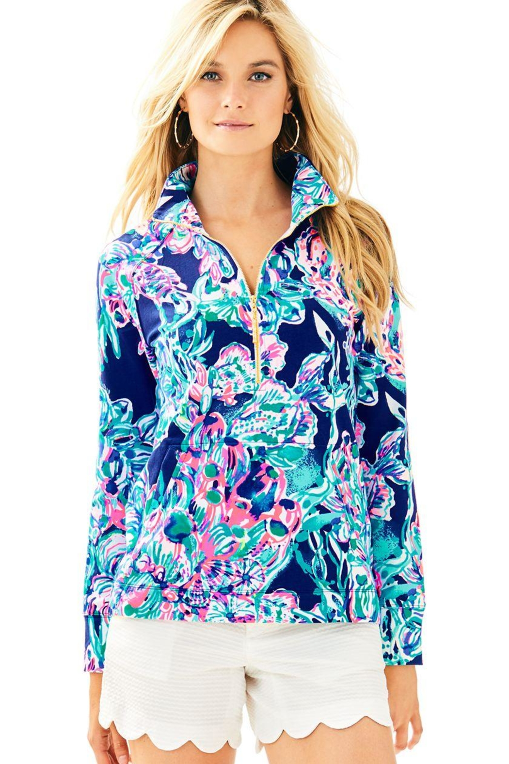 Lilly Pulitzer Skipper Popover Top - Main Image