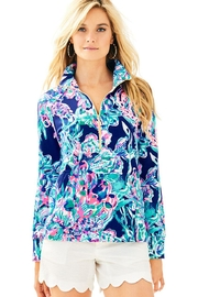 Lilly Pulitzer Skipper Popover Top - Front cropped