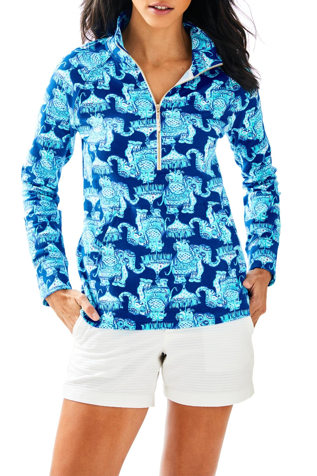 Lilly Pulitzer Skipper Printed Popover - Main Image