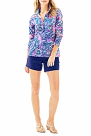 Lilly Pulitzer Skipper Printed Popover - Side cropped