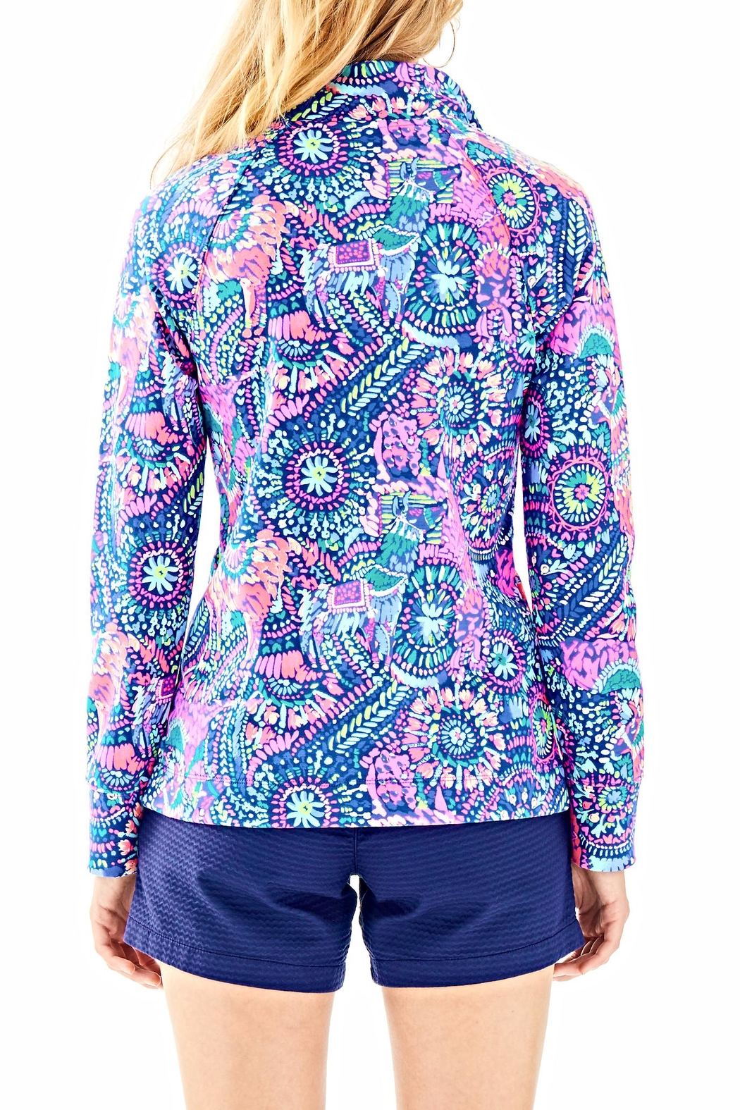 Lilly Pulitzer Skipper Printed Popover - Front Full Image