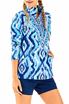Lilly Pulitzer Skipper Printed Popover Top - Product List Image